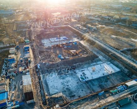 ЖК «Квартал Галактика»: ход строительства, Январь 2021