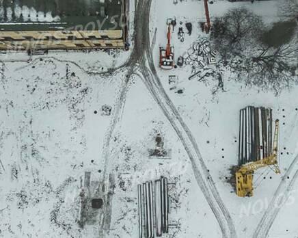ЖК «Кантемировская 11»: ход строительства, Январь 2021