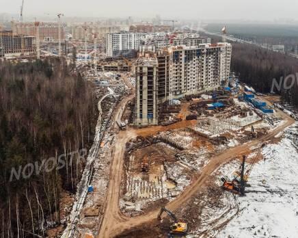 ЖК «New Time»: ход строительства, Январь 2021