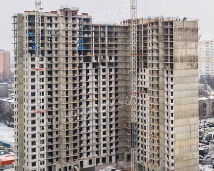 ЖК «UP-квартал «Московский»: ход строительства, Январь 2021