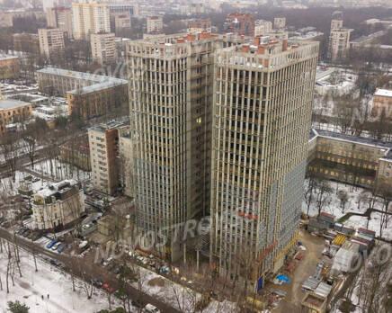 ЖК «Институтский, 16»: ход строительства, Январь 2021