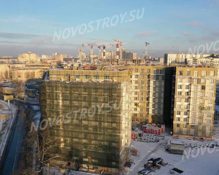 ЖК «Riviere Noire»: ход строительства дома №1, Январь 2021