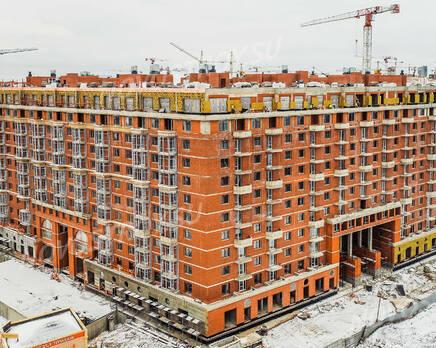ЖК «Ariosto!»: ход строительства, Январь 2021