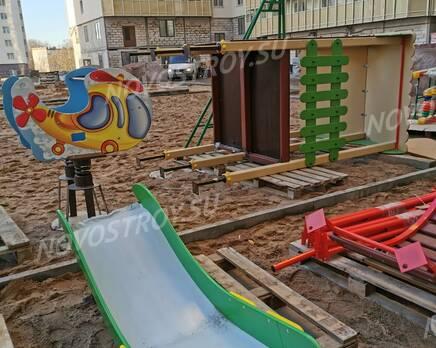 ЖК «Невская Звезда»: ход строительства (ноябрь 2020), Январь 2021