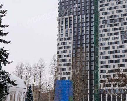 ЖК «Union Park»: ход строительства, Январь 2021