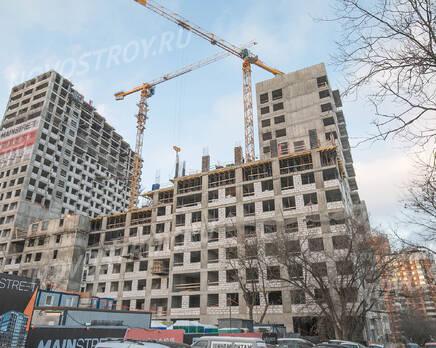 МФК «MainStreet»: ход строительства, Январь 2021