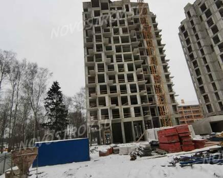 ЖК «Russian Design District»: ход строительства, Январь 2021