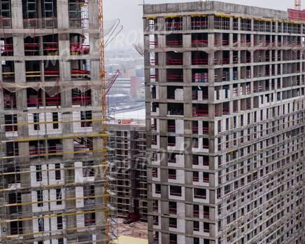 ЖК «Now. Квартал на набережной»: ход строительства, Январь 2021