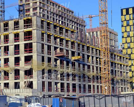 ЖК «Nagatino i-Land»: ход строительства, Январь 2021