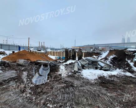 ЖК «Headliner»: ход строительства, Январь 2021