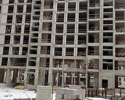 ЖК «iLove»: ход строительства, Январь 2021