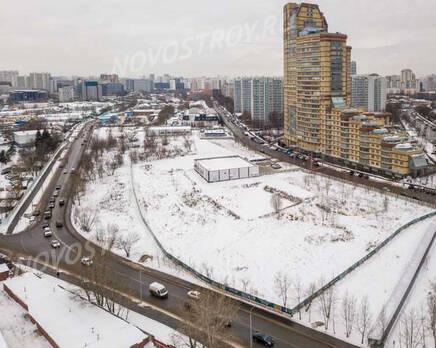 МФК «AFI Park Воронцовский»: ход строительства, Январь 2021