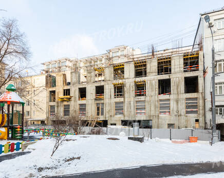 ЖК «Titul на Якиманке»: ход строительства, Январь 2021