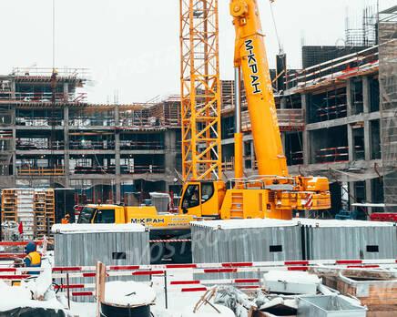 ЖК «Homecity»: ход строительства, Январь 2021