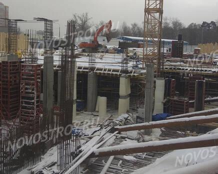 МФК «B'aires»: ход строительства, Январь 2021