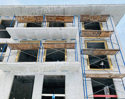 МФК «River Residences в Серебряном Бору»: ход строительства, Январь 2021