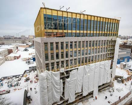 МФК «Mitte»: ход строительства, Январь 2021