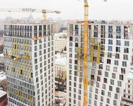 ЖК «White Khamovniki»: ход строительства, Январь 2021