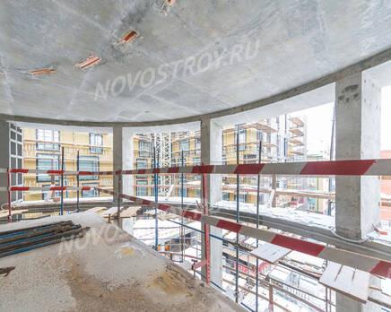 МФК «Roza Rossa»: ход строительства, Январь 2021