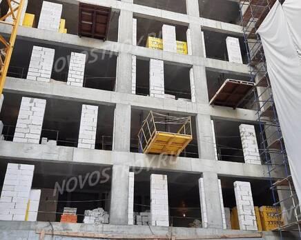 ЖК «Villa Grace»: ход строительства, Январь 2021