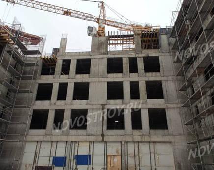 МФК «Carre Blanc»: ход строительства, Январь 2021