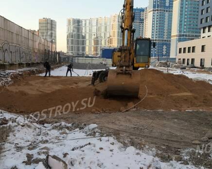 ЖК «Парнас»: ход строительства, Январь 2021