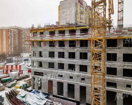 ЖК AFI Tower: ход строительства, Февраль 2021
