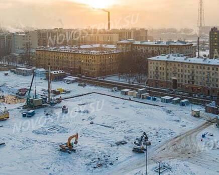 ЖК «Кантемировская 11»: ход строительства, Февраль 2021