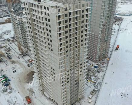 ЖК «Заповедный парк»: ход строительства дома №2, Февраль 2021