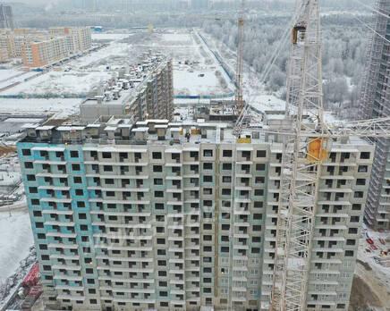ЖК «Заповедный парк»: ход строительства дома №3, Февраль 2021