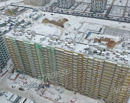 ЖК «Заповедный парк»: ход строительства дома №4, Февраль 2021