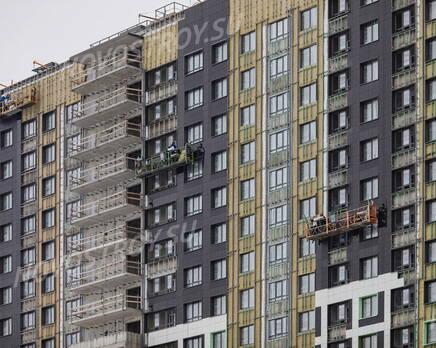 ЖК «Урбанист»: ход строительства, Февраль 2021