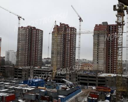 ЖК «Поэт»: ход строительства, Февраль 2021