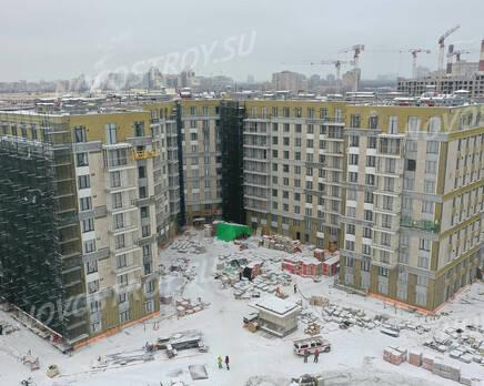 ЖК «Riviere Noire»: ход строительства дома №1, Февраль 2021
