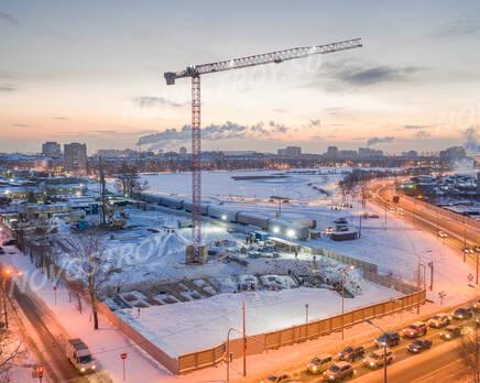 МФК «Начало»: ход строительства, Февраль 2021
