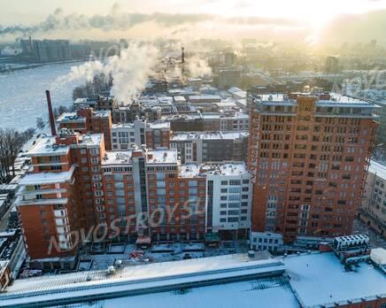 ЖК «Эталон на Неве»: ход строительства, Февраль 2021