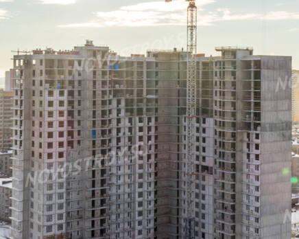 ЖК «UP-квартал «Московский»: ход строительства, Февраль 2021