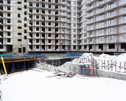 ЖК «All inclusive»: ход строительства, Февраль 2021
