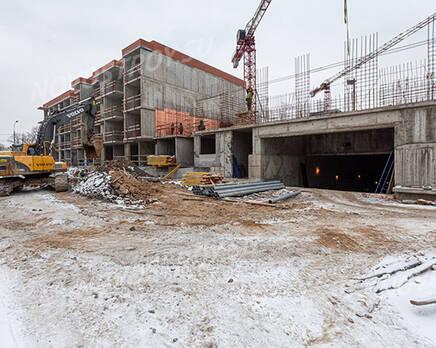 МЖК ЦДС «Волковский»: ход строительства, Февраль 2021