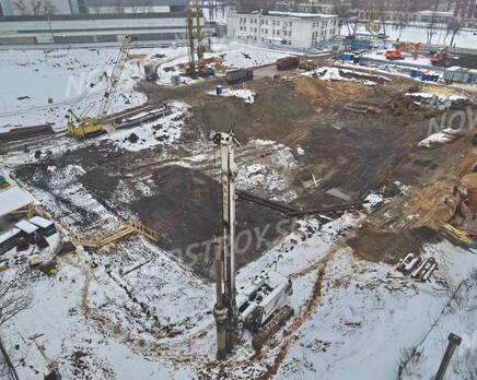 ЖК «Profit»: ход строительства корпуса №8, Февраль 2021