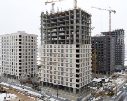 ЖК «Holland park»: ход строительства корпуса №10, Февраль 2021