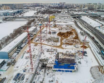 ЖК «City Bay»: ход строительства, Февраль 2021