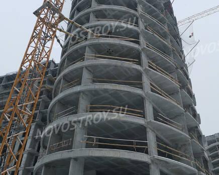 ЖК «Russian Design District»: ход строительства, Февраль 2021