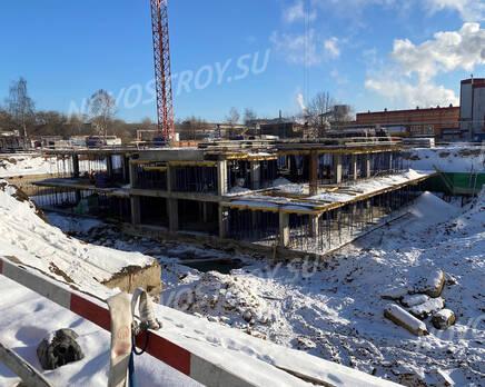 ЖК «Sydney City»: ход строительства корпуса №1, Февраль 2021