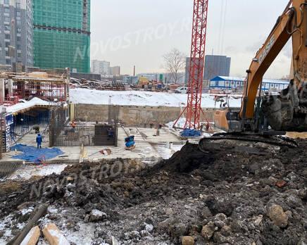 ЖК «Sydney City»: ход строительства корпуса №2, Февраль 2021