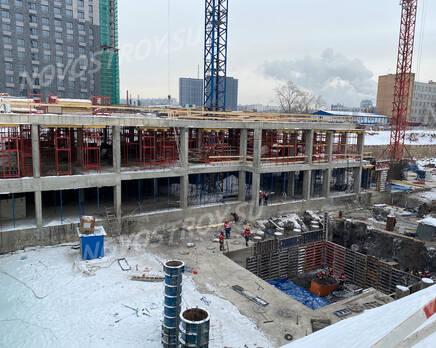 ЖК «Sydney City»: ход строительства корпуса №3, Февраль 2021
