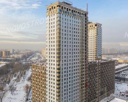 ЖК «balance»: ход строительства корпуса №1, Февраль 2021