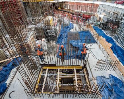 МФК «Lumin»: ход строительства, Февраль 2021