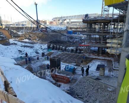 ЖК «Headliner»: ход строительства, Февраль 2021