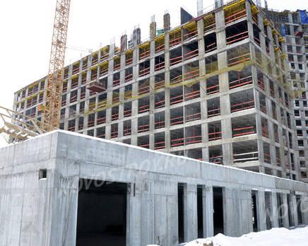 ЖК «Nagatino i-Land»: ход строительства, Февраль 2021